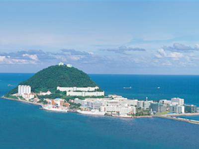 Korea Maritime University in Youngdo-gu, Busan