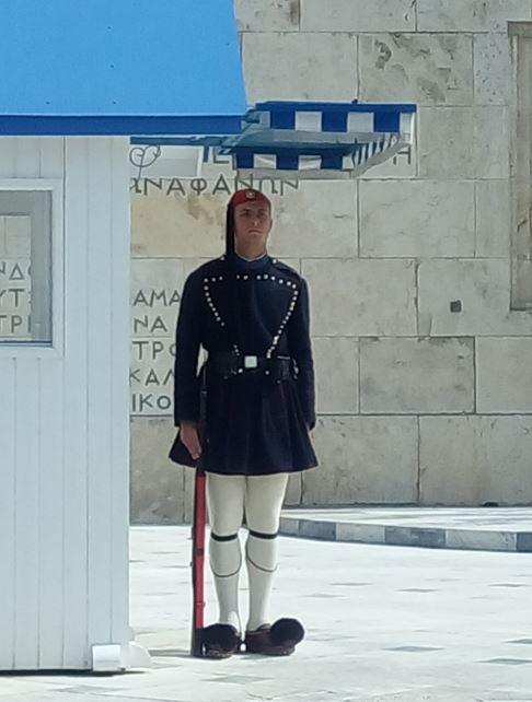 Guardia en la Syntagma Square2
