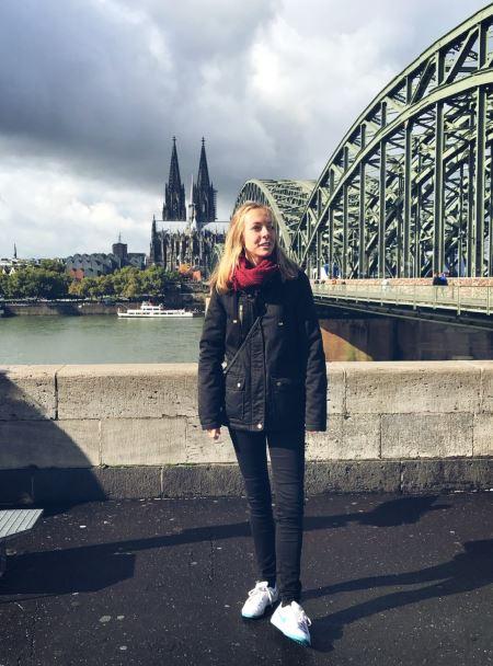 Inés en Colonia (Alemania)