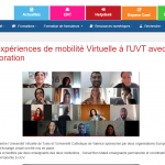 Intercambio Virtual entre la UCV y la Universidad Virtual de Túnez