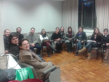 Reunión sobre el trabajo multidisciplinar
