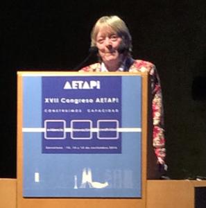 Intervención de la Dra. Gould en el congreso de profesionales del autismo