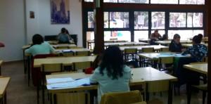 Estudiantes de logopedia de la UCV