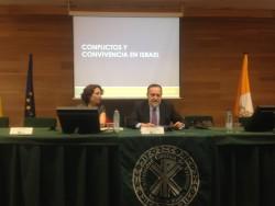 Presentación de la representante de la embajada de Israel
