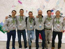 El equipo de profesores organizadores de las Jornadas