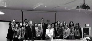 foto de grupo con el director europcom