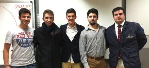 Ponentes y responsables del Taller impartido en la UCV