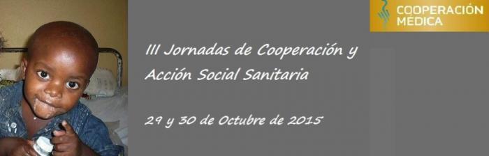 III Jornadas de Cooperación y Acción Social Sanitaria
