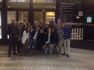 Profesores y alumnos de la UCV en aede 2014