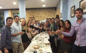 Reunión en SESPO 2014