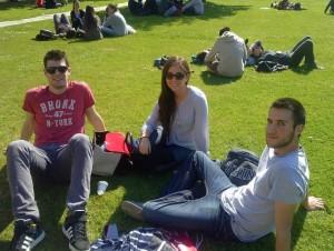 Alumnos Erasmus y Mundus disfrutando de su estancia