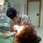 Alumna interna del Departamento de Odontología en pacientes especiales