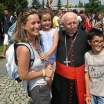 """Cardenal Cañizares: """"Cuando vuelvan de Cracovia, los jóvenes valencianos volverán esperanzados para ser misericordiosos»"""