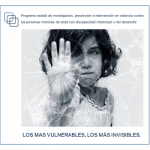 II Jornadas Técnicas Estatales- Violencia contra personas menores de edad con discapacidad intelectual o del desarrollo.