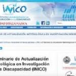 XI Seminario de Actualización Metodológica en Investigación Sobre Discapacidad (INICO)