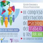 III Congreso Internacional de Psicología del Trabajo y los RR.HH. (VII Congreso Nacional)