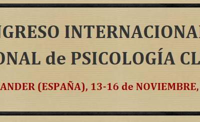 XII Congreso Internacional y XVII Nacional de Psicología Clínica