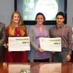 Aida Cabrea estudiante de Grado de Psicología obtiene  el Premio al Proyecto Emprendedor en la categoría de TFG