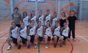 Equipo de Baloncesto Femenino UCV 2014/15