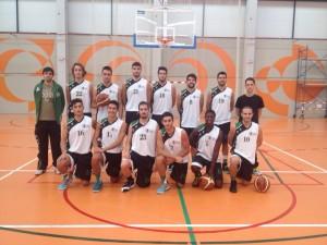 Equipo de Baloncesto Maculino UCV 2014/15