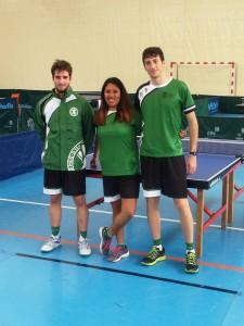 Sergio Fernández Villanueva, Elisabetta Lecce y Christian Verdeguer Agudo.