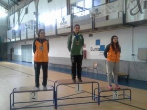 Diana Victoria gana el CADU Esgrima en su modalidad
