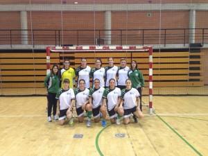 Equipo de Fútbol Sala Femenino UCV 2014/15
