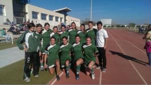 Equipo de Rugby Femenino UCV 2014/15