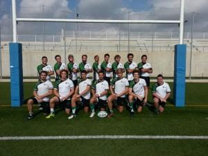 Equipo de Rugby Maculino UCV 2014/15