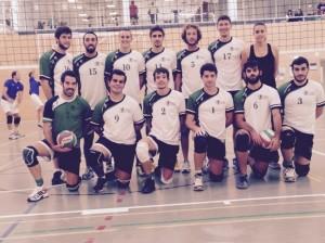 Equipo de Voleibol Masculino UCV 2014/15