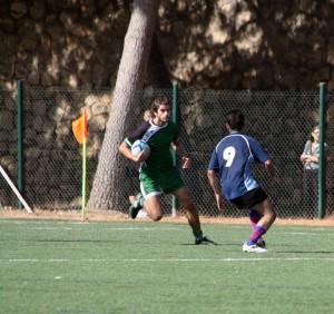 Jugador rugby ucv