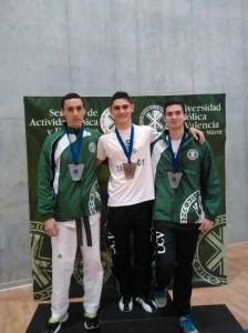 De izquierda a derecha, Anselmo Tudela, David Redón y Lamberto Landete.