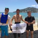 Ponce vence y bate el récord de la Ultraswim Ibiza-Formentera