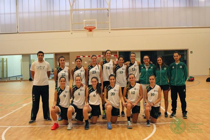 Equipo Baloncesto UCV F