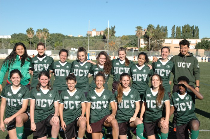 Equipo UCV Rugby femenino