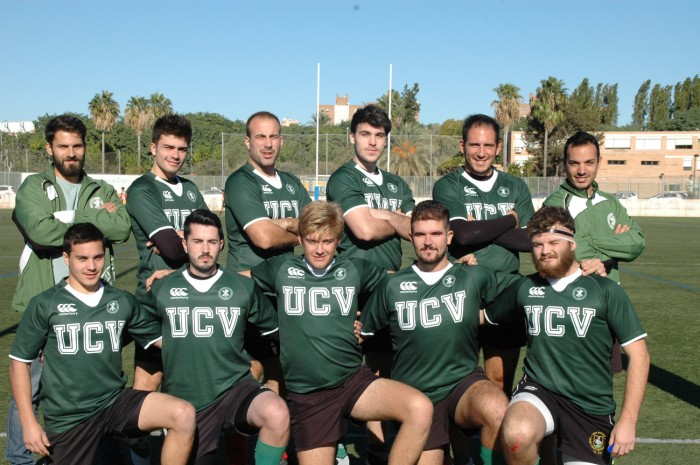 Equipo Rugby 7 Masculino UCV