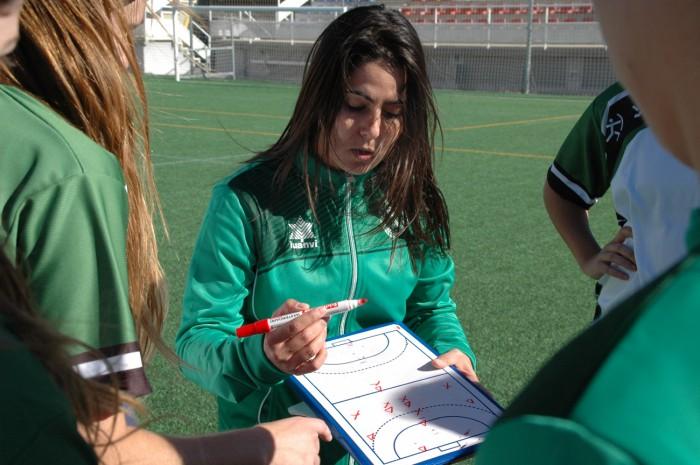 Entrenadora Futbol UCV