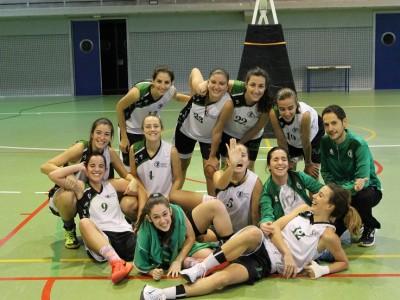 Equipo baloncesto femenino UCV