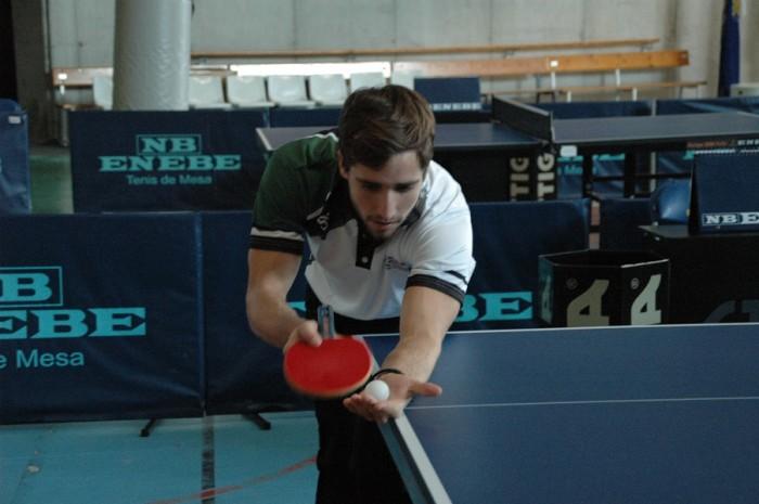 Sergio Villanueva UCV Tenis de mesa