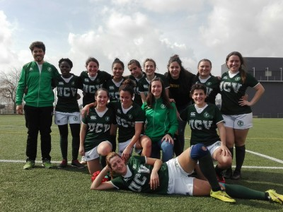 UCV rugby femenino