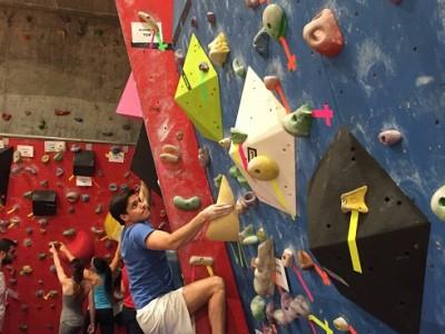 competición escalada ucv