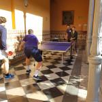 Diego Fernández y Gonzalo Mariscal ganan la primera competición interna de tenis de mesa