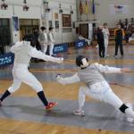 Diana Victoria consigue medalla de plata en el CEU de Esgrima
