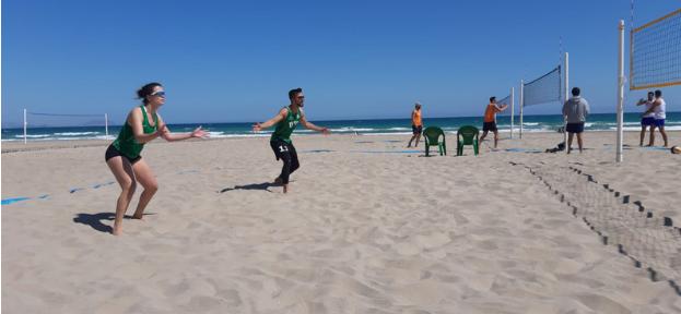 Voley playa UCV