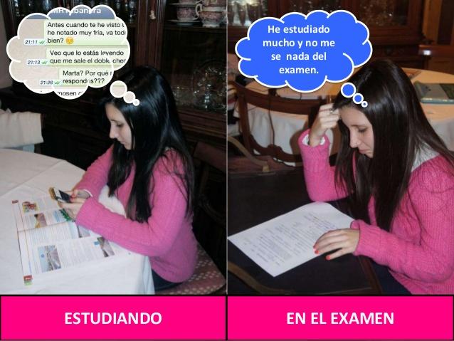Realidad de estudiar con WhatsApp