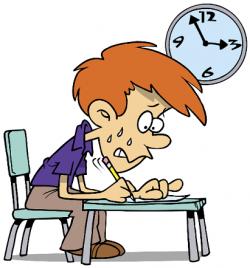 Tiempo en el examen