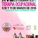 XVIII Congreso Nacional de Estudiantes de Terapia Ocupacional