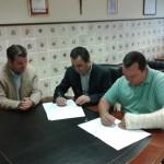 Firma del convenio entre la Facultad de Veterinaria y Ciencias Experimentales y el Centro de Hípico Tramuntana