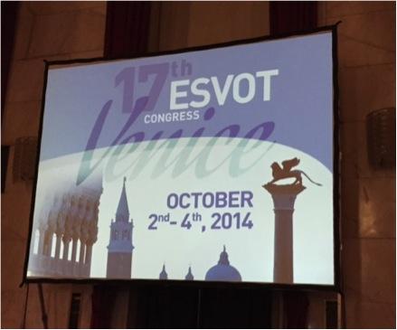 Cartel del congreso ESVOT que contó con las ponencias del Servicio de Ortopedia y Traumatología