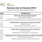 Semana de la Ciencia 2014 en la UCV